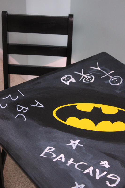 chalkboard play table