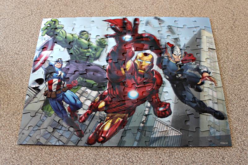 Avengers Puzzle art