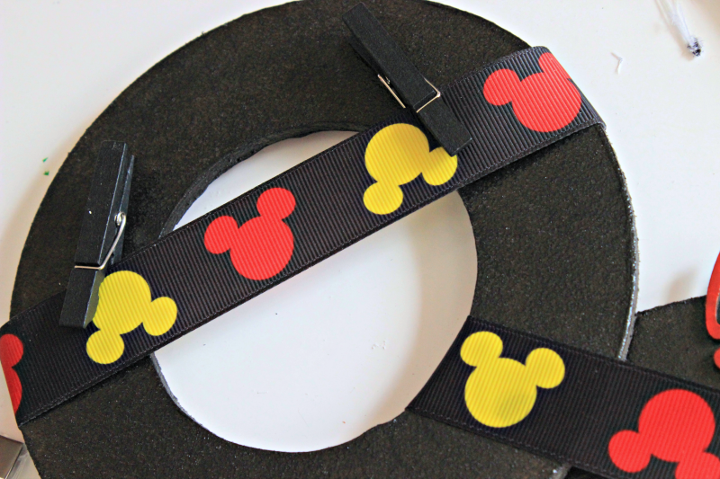 Mickey Mouse Photo Board