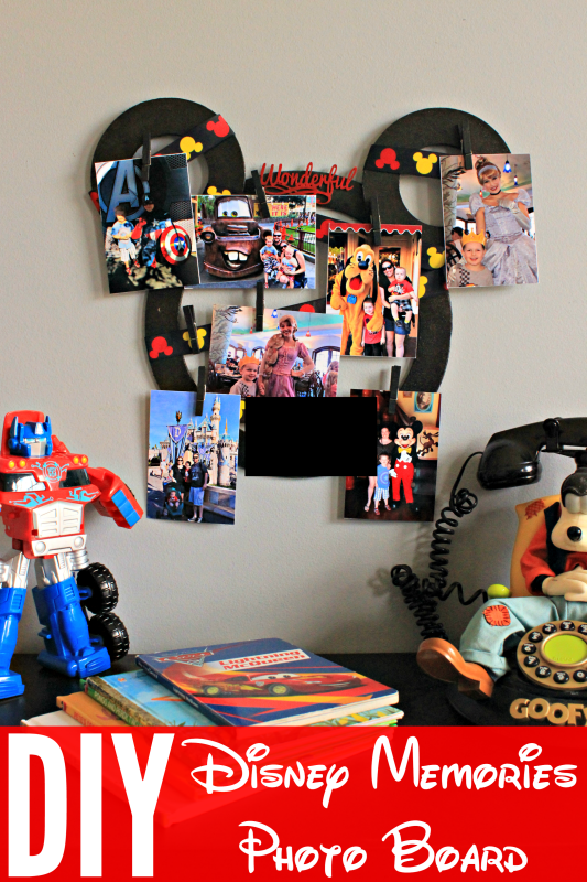 Disney Memories Photo Board