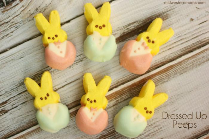 Easter Peeps Dressed Up