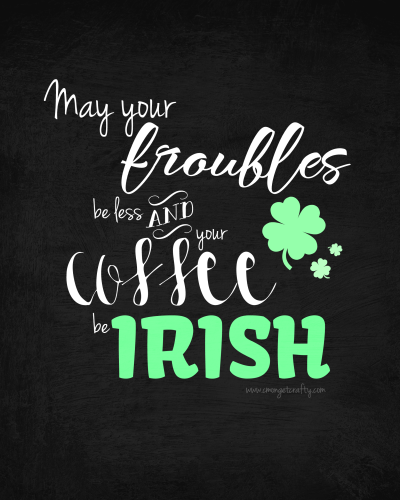 Irish Printable