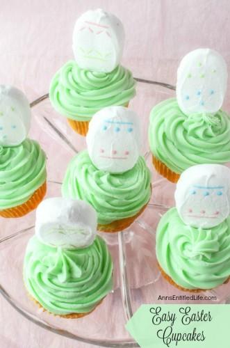 Peeps Eggs Cupcakes