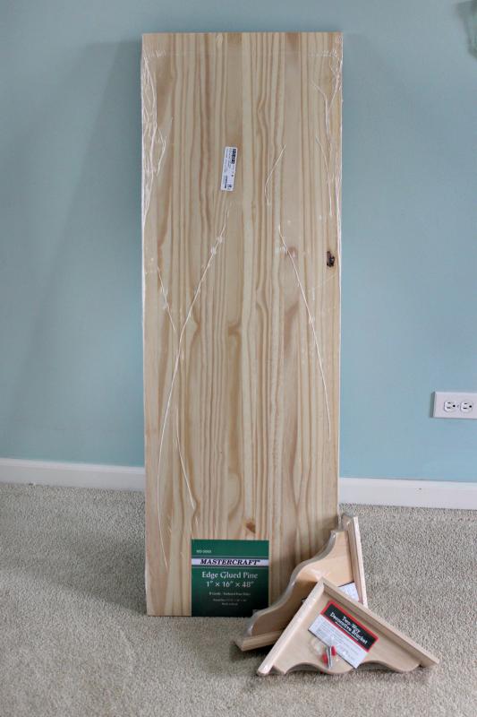 build a custom shelf for your closet