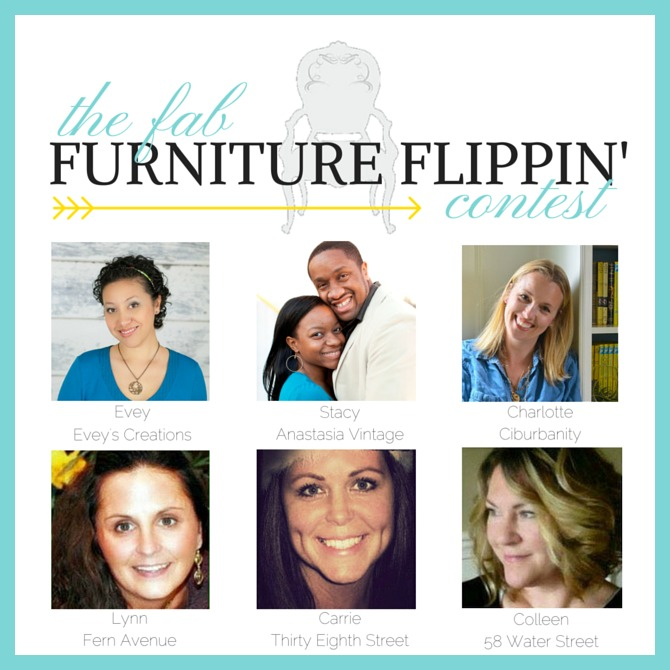 Fab Flippin Furniture Contest