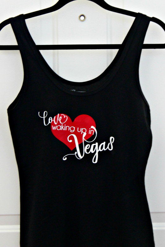 Remember some of your best summer memories every night! Create a cute pajama tank with song lyrics and iron ons!