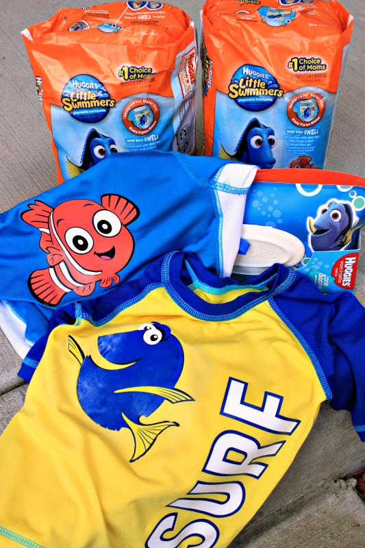 Huggies Little Swimmers Finding Dory