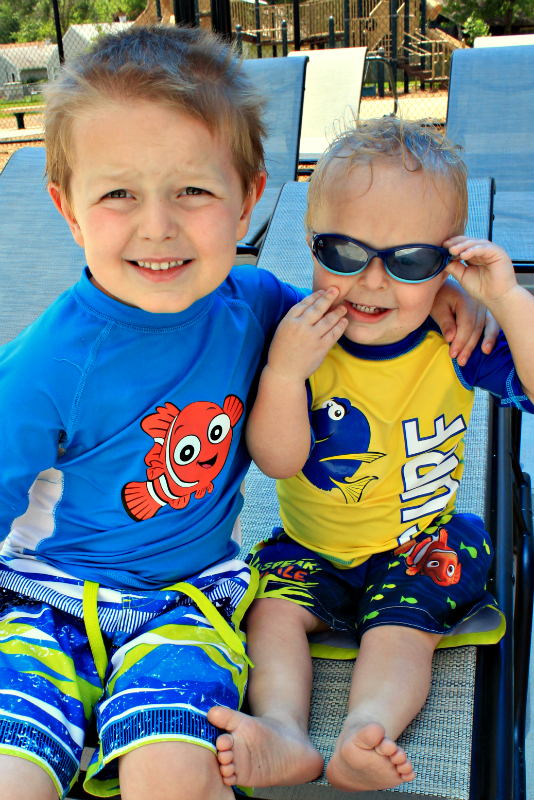DIY Finding Dory Swim Shirt