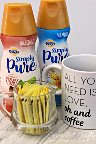Make healthy choices all week by starting off with a cup of coffee and a menu plan! #IDSimplyPure #ad