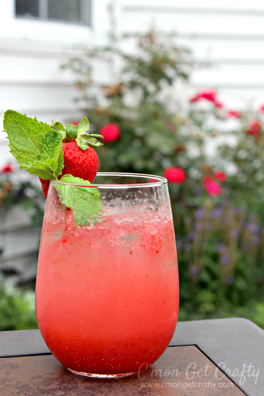 Cool off this summer with a refreshing cocktail that is light and fruity without being too sweet.