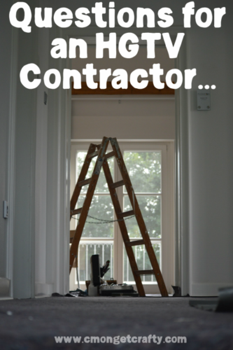 Ever watch HGTV and want to ask questions? What if you got to ask an HGTV contractor all about home renovations and insider tips? I did!