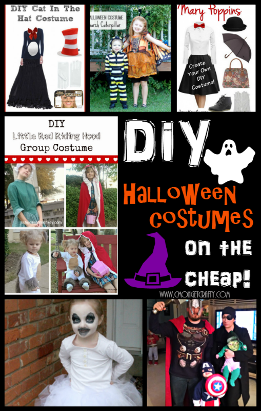 If you're still scrambling for a Halloween costume, have no fear! These DIY Halloween Costumes will have you styled in no time!