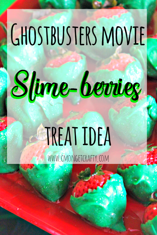 Set up this easy sweet and salty snack bar for your next movie night! #CatchMoreData #Ghostbusters #ad