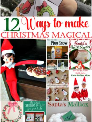 12 Ways to Make Christmas Magical