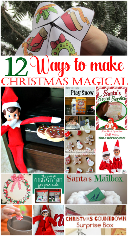 12 Ways To Make Christmas Magical For Kids at intelligentdomestications.com