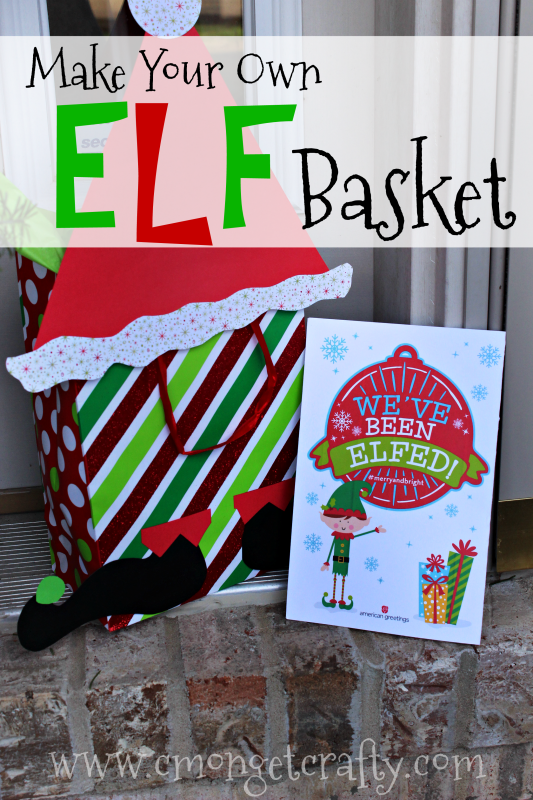 photo relating to You've Been Elfed Free Printable named Create Your Personalized Elf Basket - Cmon Consider Cunning