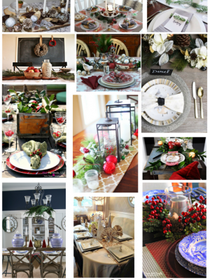 12 Christmas Tablescape Ideas