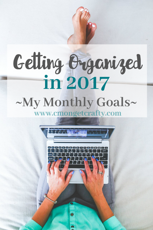 Getting Organized in 2017: My January Goals