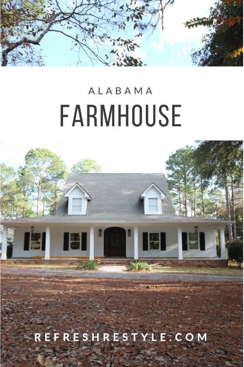 Alabama Farmhouse Refresh