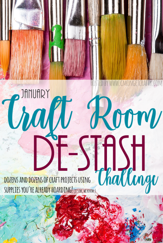 Over twenty bloggers have come together to create crafts from stash! Check out all the great things you can make from craft supplies you probably already have!