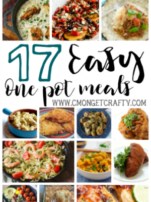 17 Easy One Pot Meals