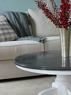 Coffee Table Makeover{Furniture Refresh}
