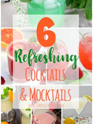 6 Refreshing Cocktails and Mocktails