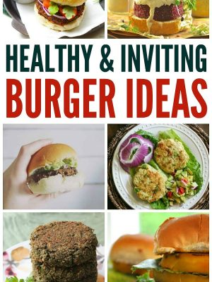 There is something in each season that appeals to me. For summer, it's all about breezes and fresh cut grass scents and burgers. I LOVE BURGERS. Check out these healthy burgers for your next BBQ!