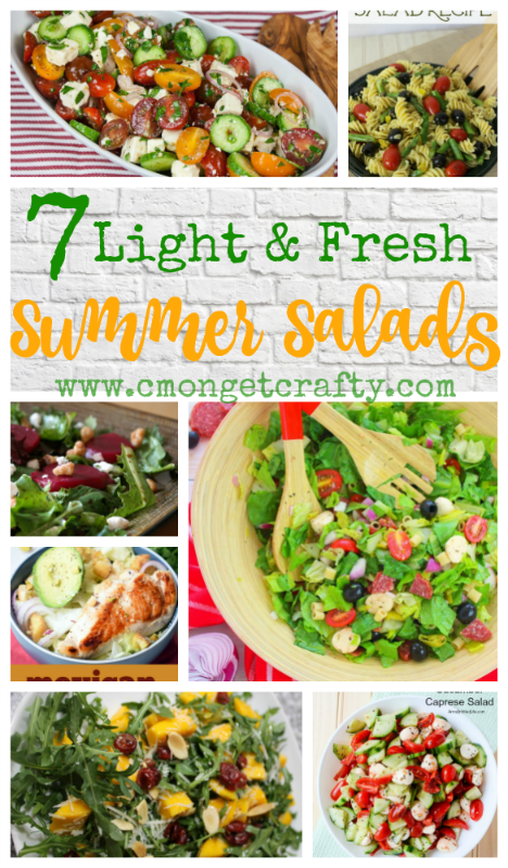 Check out some fresh summer salads to enjoy as the weather warms up and ignore that oven for a while!