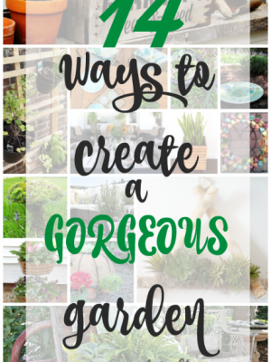 I may be clueless when it comes to gardening and flower beds, but there are some beautiful inspirations out there in the blogoshphere! Which of these garden ideas are you most in love with?
