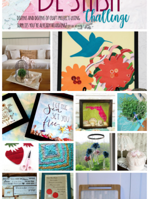 Destash Your Craft Room! {June Craft Destash Challenge}