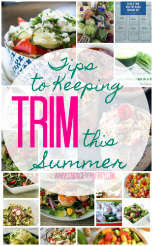 """Evereyone frets about getting to their """"summer body"""", but you can easily lose it with all the summer entertaining! Check out some tips and tricks to keeping trim this summer!"""