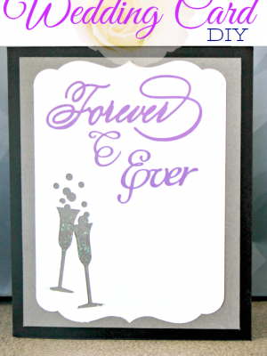How to Make a Wedding Card from Paper Scraps #MovieMondayChallenge