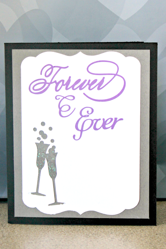 """I was inspired by an iconic moment in """"My Best Friend's Wedding"""" to create this wedding card from my leftover paper scraps - and I'm showing you how! #MovieMondayChallenge"""