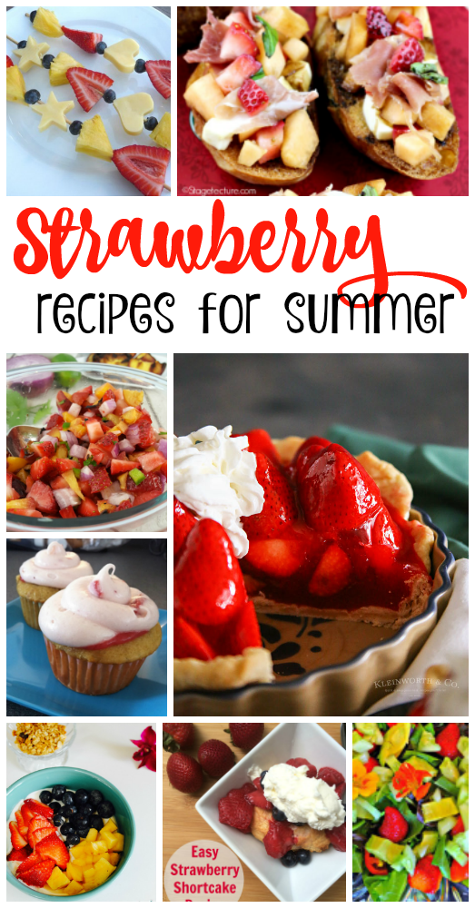If you are a strawberry lover, you will want to try some of these fresh, delicious strawberry recipes!