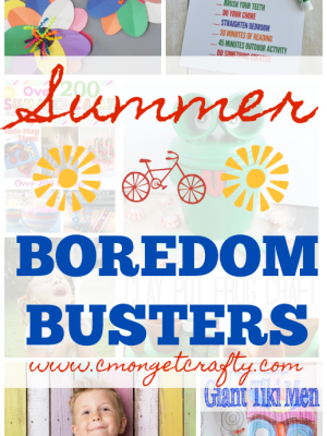 Are your kids like mine - whining constantly about being bored during the long summer days? Try some of these summer boredom busters!