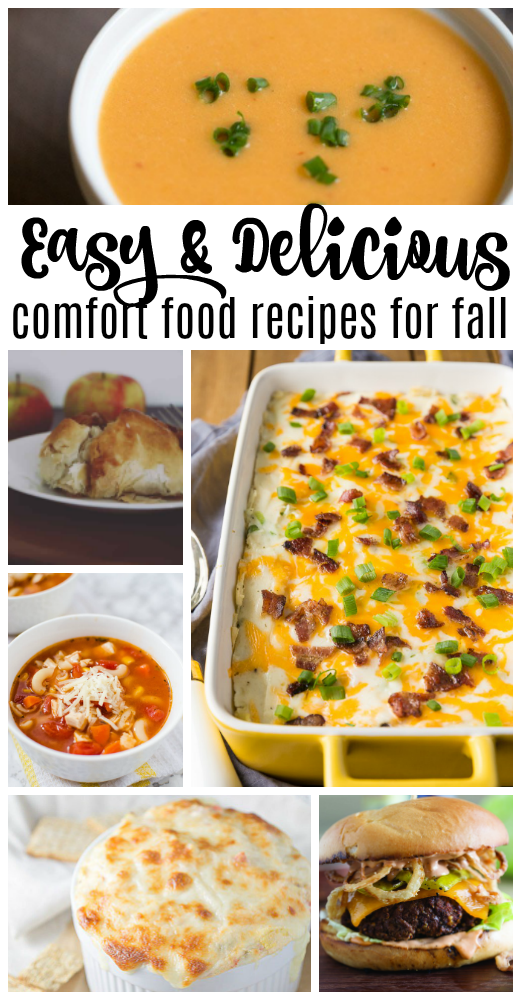 One of the best things about fall for me is the delicious comfort foods - anything in my crockpot!