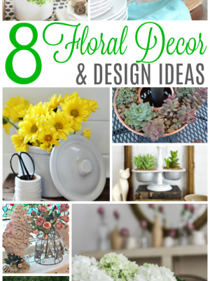 Beautiful floral decor and design inspiration across several blogs - what's your favorite element in floral design?