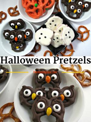 Halloween Pretzels {MM 173}