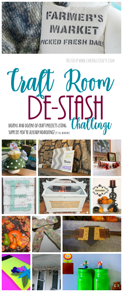 What crafts could you make today using only items already in your craft room? That's what the Monthly Crafty Destash Challenge is all about!