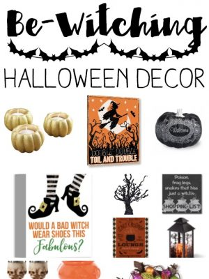 Be Witching Halloween Decor