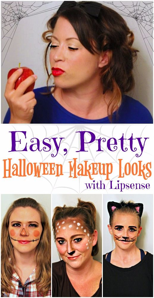 Halloween Makeup Ideas Easy Makeup Looks.Easy And Pretty Halloween Makeup Ideas Using Lipsense