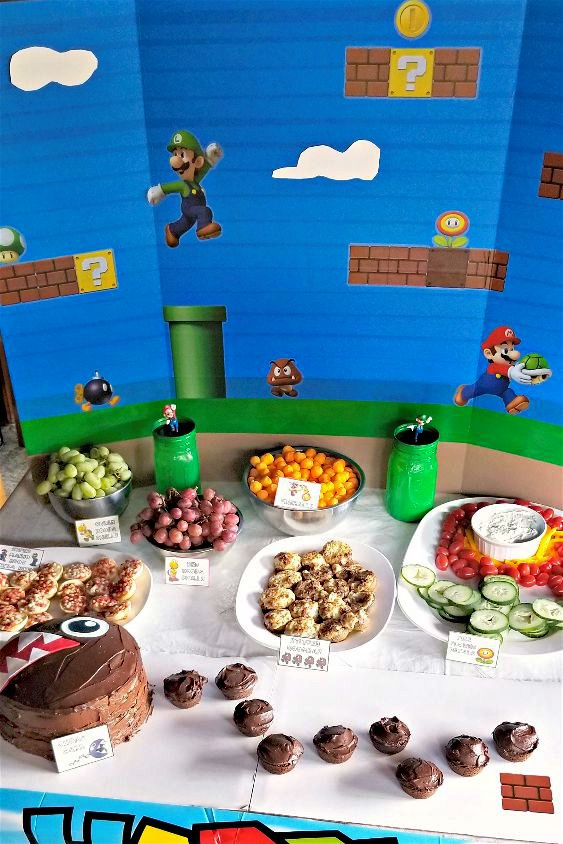 Super Mario Party Ideas {and Free Printables!}