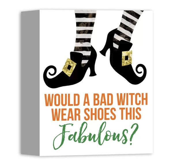 Let your inner Witch out this Halloween with this hauntingly fun Halloween decor!