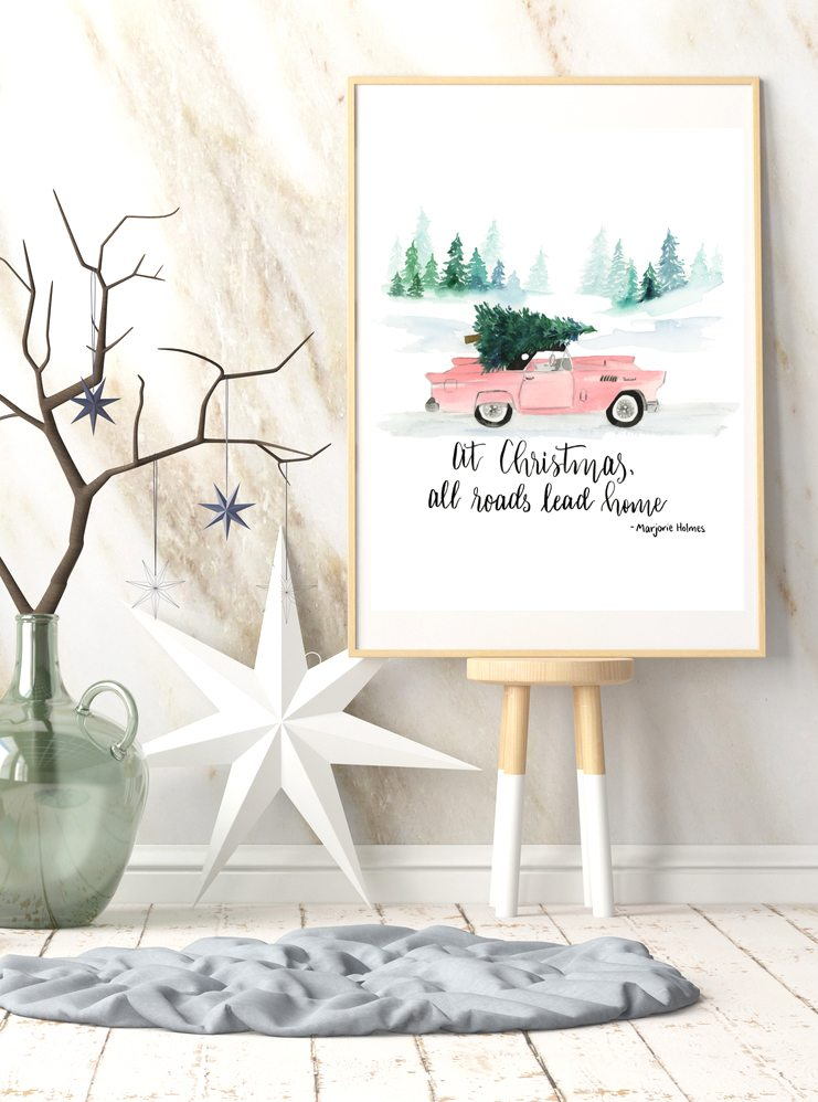Watercolor Christmas {MM #180}