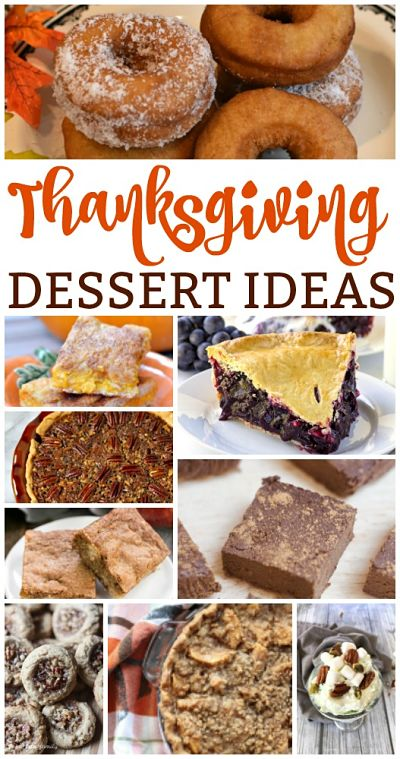 Thanksgiving Dessert Ideas {MM #179}