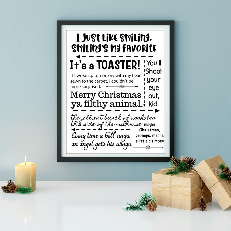 free printable of christmas movie quotes - Christmas Movies For Free