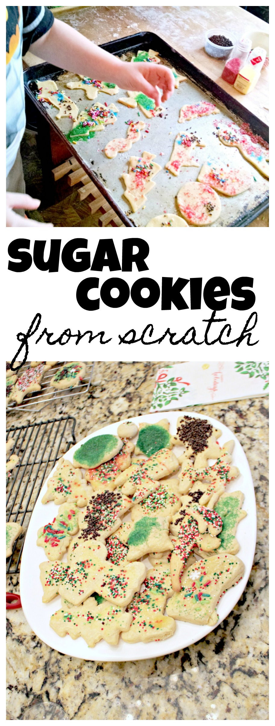 Try a new tradition this year with this sugar cookie party!