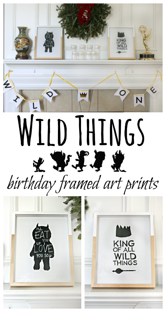 This is a graphic of Nerdy Where the Wild Things Are Printables for Free