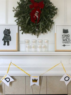Wild Things Birthday Party and Free Printables